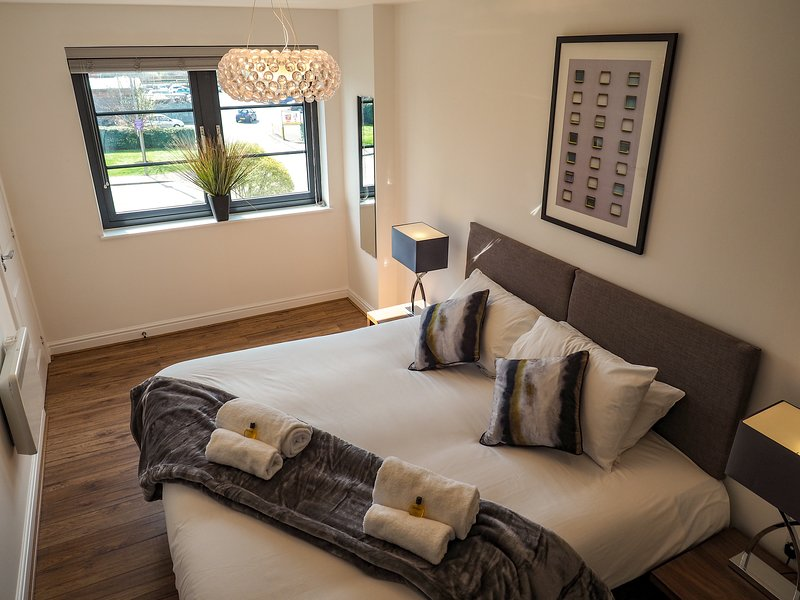 SA Today Apartments Farnborough (Fibre Wi-Fi & Netflix)!, holiday rental in Sandhurst
