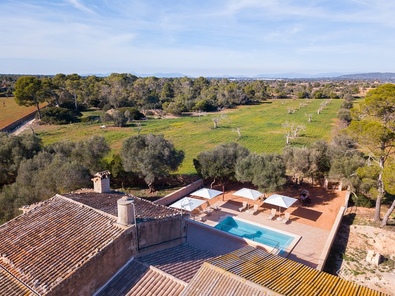 Finca Son Grauet - Spectacular villa with pool in Llucmajor, holiday rental in Llucmajor