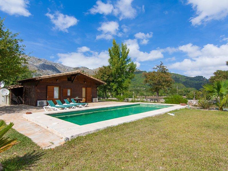Hort Nou - Fantastic villa with pool in Pollença, vacation rental in Formentor