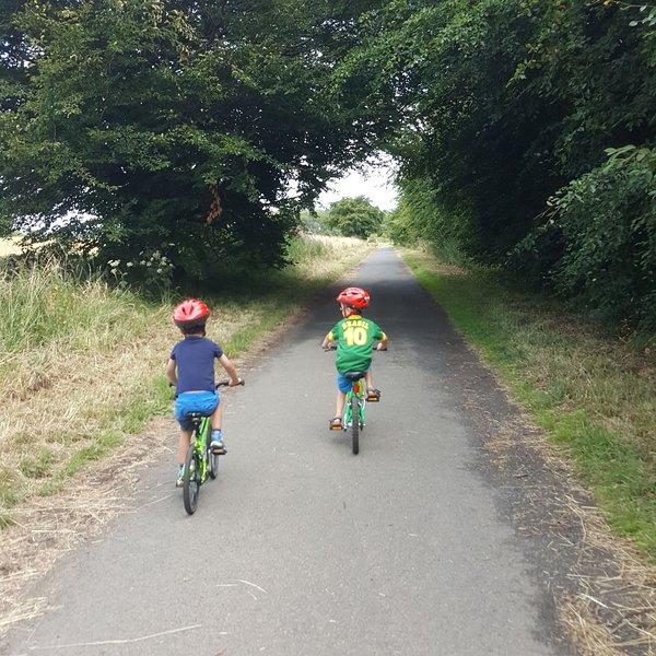 Veilig fietsen langs het kustpad van Fife