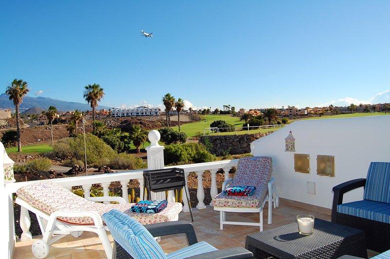 Splendidi panorami dalla terrazza