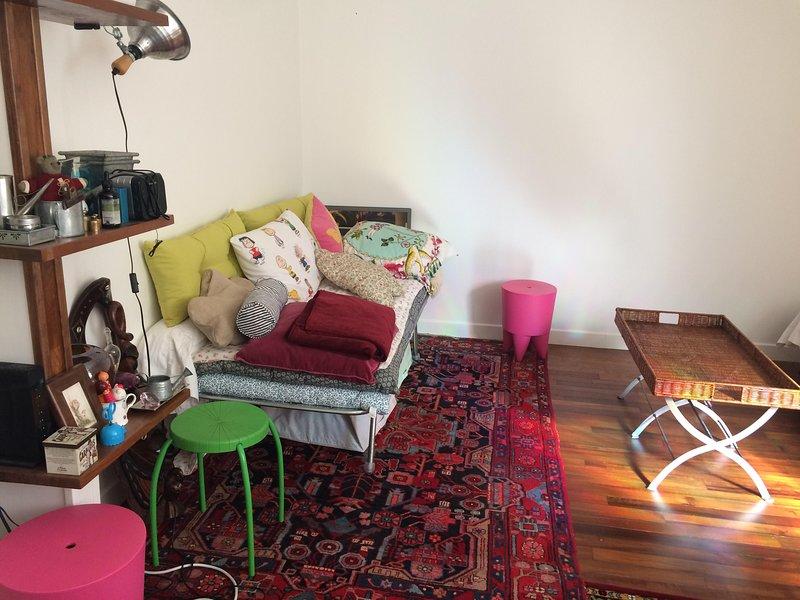 Appartement fonctionnel à 3 mn du métro, 35m2, holiday rental in Les Lilas