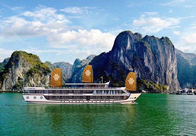 Genesis Regal Luxury Cruises, alquiler vacacional en Tuan Chau Island