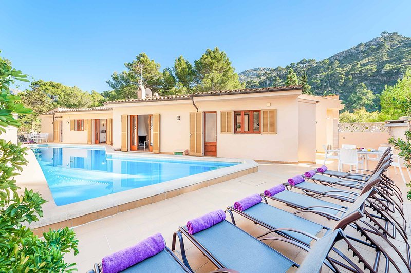 Villa Tonieta, vacation rental in Cala San Vincente