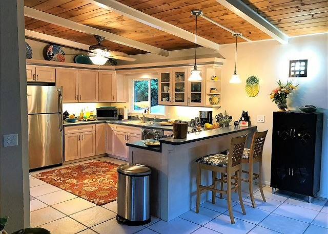 Kitchen with Breakfast Bar Seating
