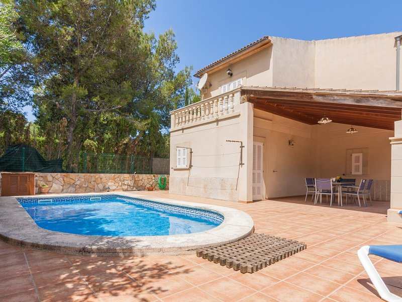 Montferrutx - Fantastic chalet with private pool, holiday rental in Colonia de Sant Pere