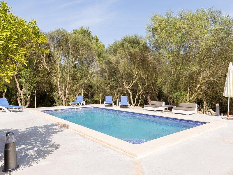 Pomer - Beautiful villa with pool in Costitx, in the centre of Mallorca, aluguéis de temporada em Costitx