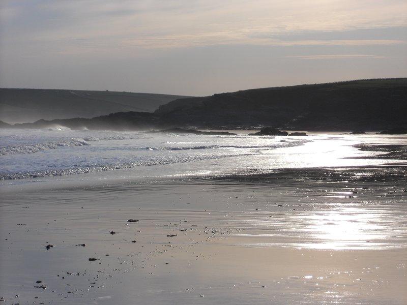 Early morning solitude - Harlyn beach at dawn
