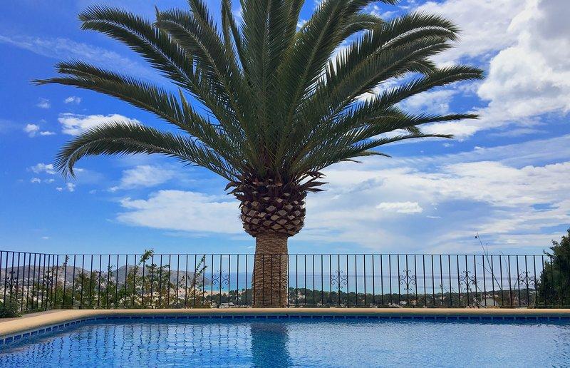 MORAIRA VILLA  CON VISTA AL MAR, vacation rental in Moraira