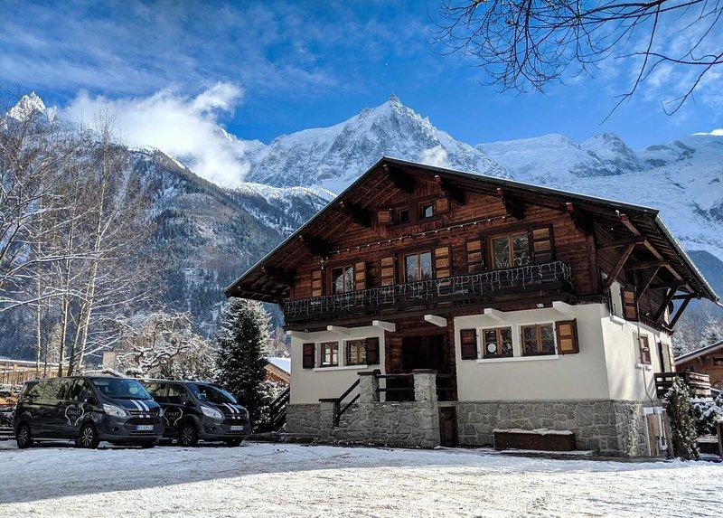 Chalet 715 - Stunning 7 bedroom chalet in Chamonix, holiday rental in Chamonix