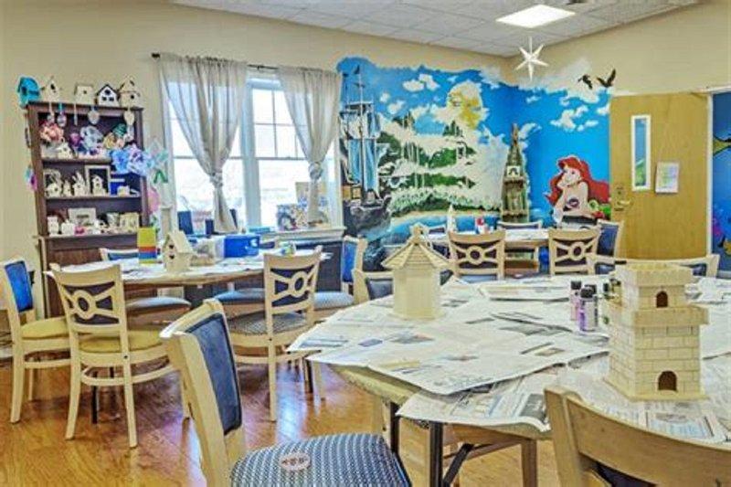 sala de manualidades para niños