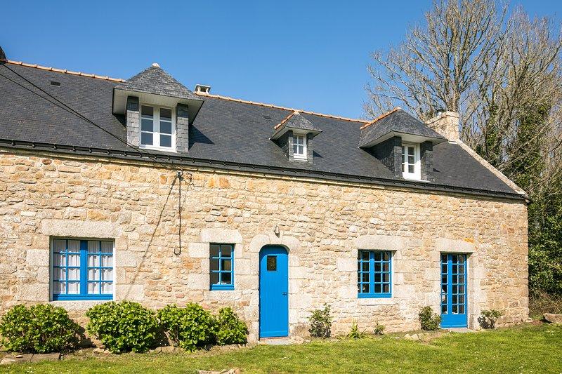Le Kerinis-Belle Longère avec Jardin, holiday rental in Saint-Philibert
