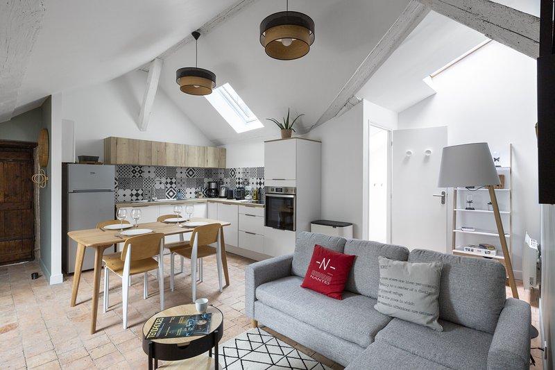 Le Nao- L'Île Feydeau - 2 chambres de charme, holiday rental in Bouguenais