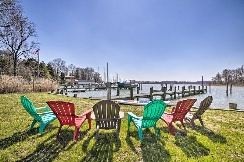 Riverfront relaxation awaits at this 4-bedroom, 4-bath Edgewater home!