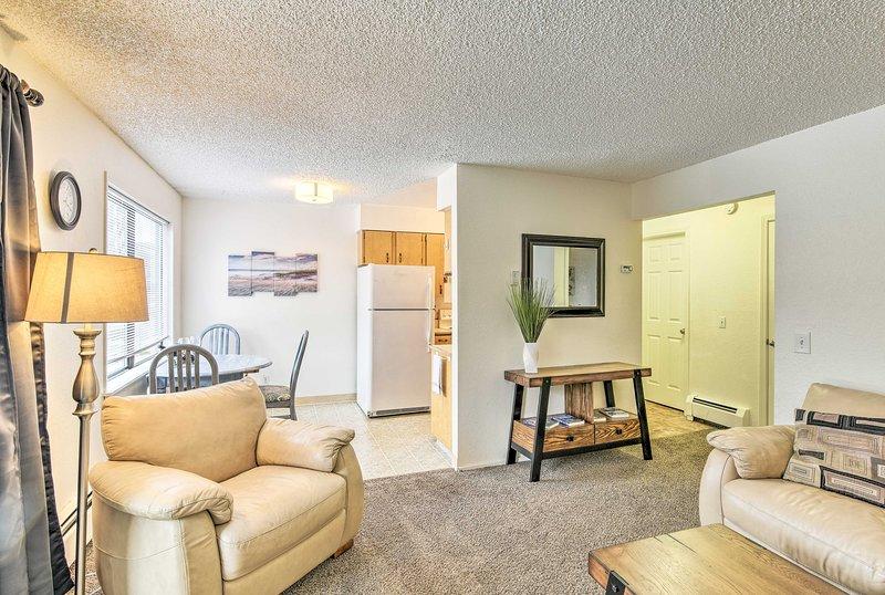 Questa casa vacanza con 1 camera da letto e 1 bagno offre tutti i comfort di casa.
