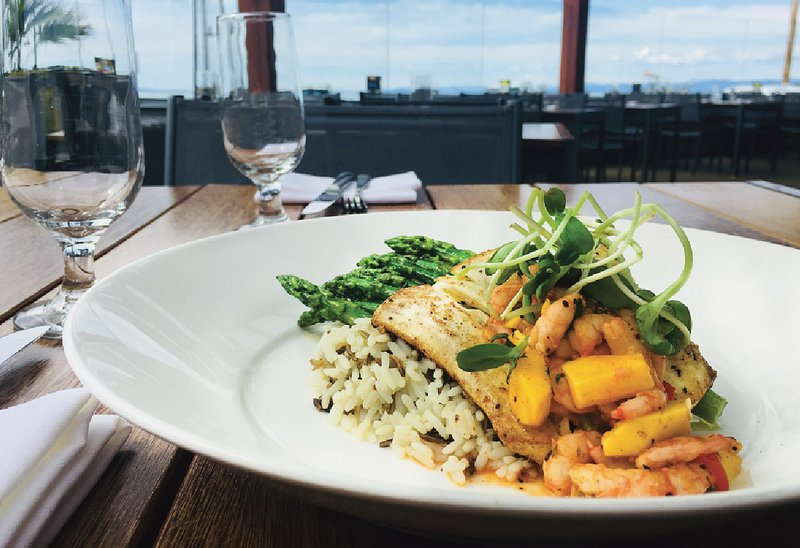 Westcoast cuisine with a view is a short walk away at the Cview Restaurant