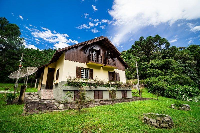 Chalés da Bocaina 1 - Chalé Araucária, location de vacances à Sao Jose do Barreiro