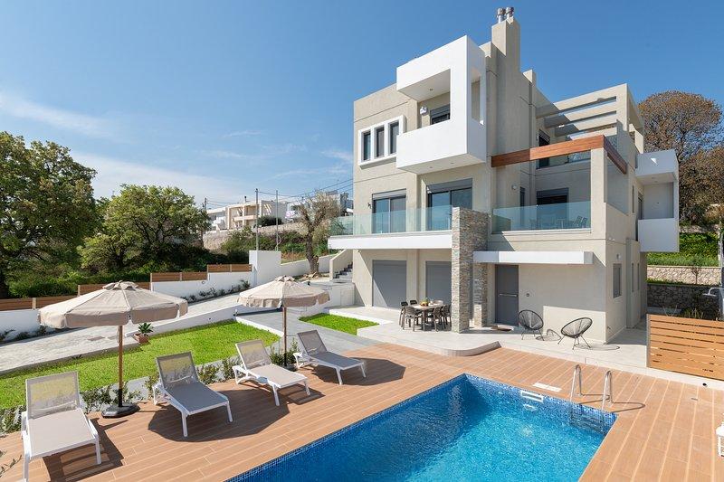 Terpis Pool Villa, location de vacances à Rhodes (ville)