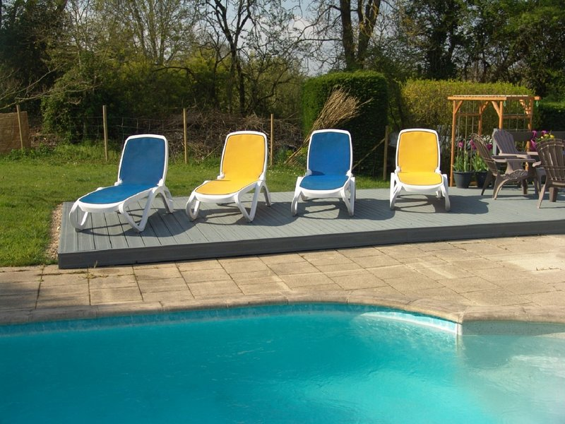 Petit Laurier Lovely Detached house sleeps 8, holiday rental in Le Champ-Saint-Pere