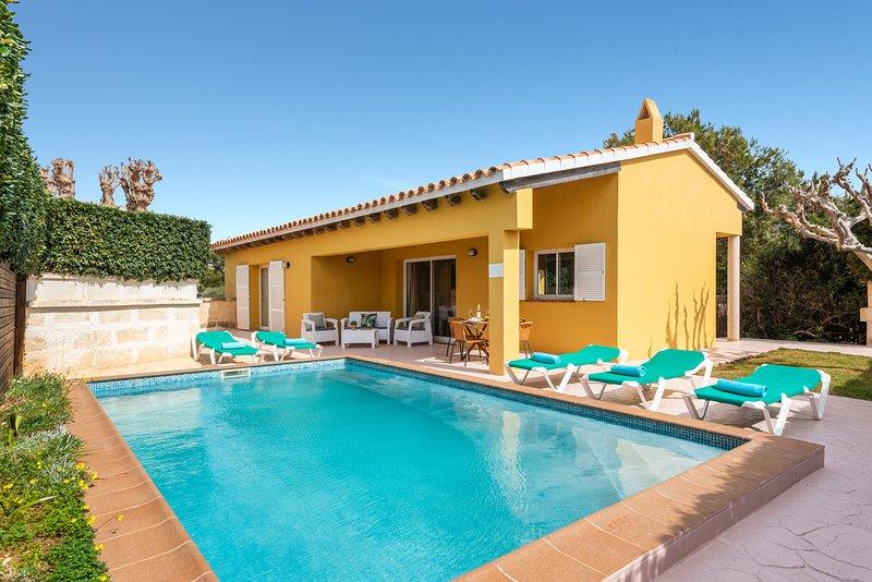 Villa Aries, aluguéis de temporada em Cala'n Forcat