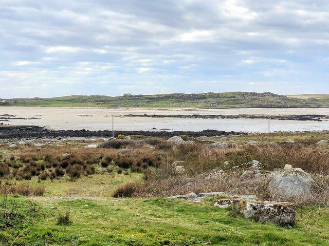 uitzicht vanaf het eigendom van Courhoor Lough