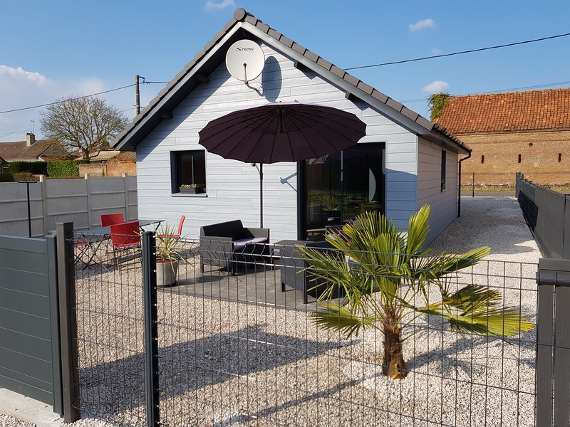 Le chalet de l'Authie, holiday rental in Aubin-Saint-Vaast