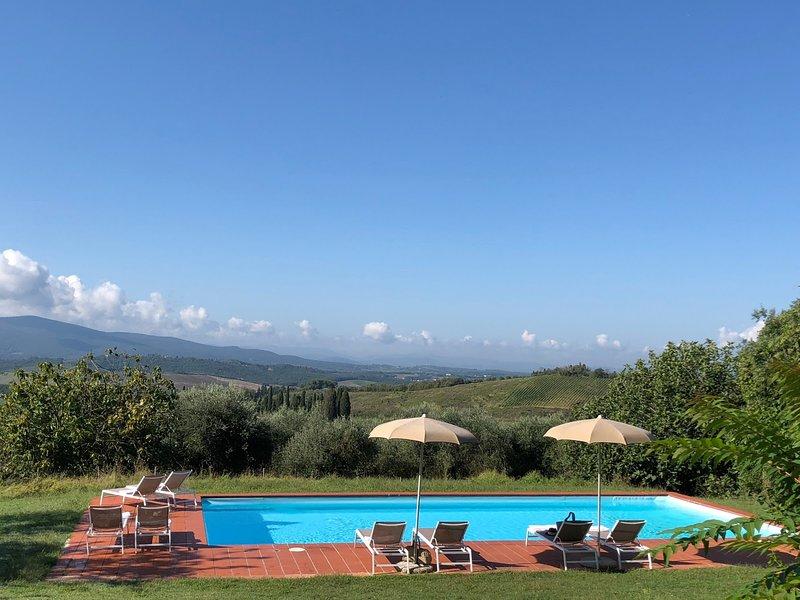 Braccagni, holiday rental in Castellina In Chianti
