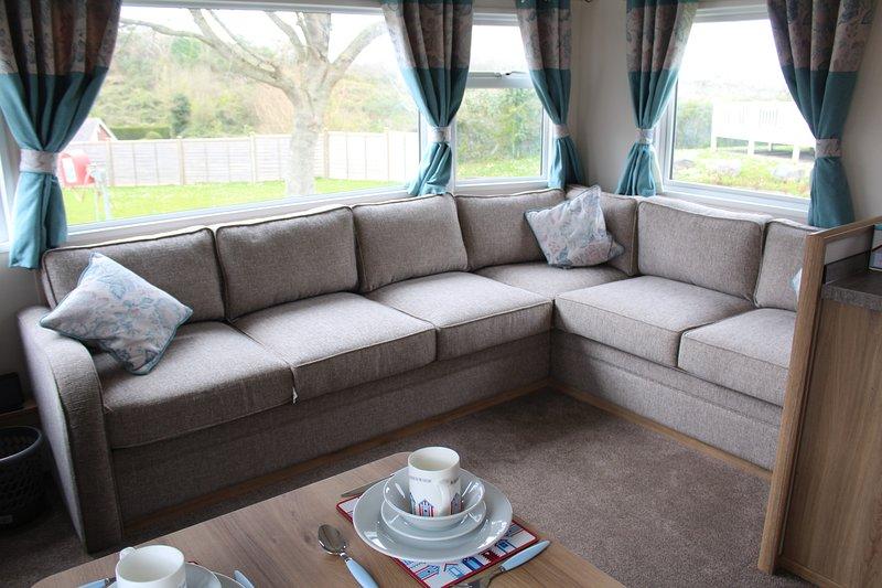 Maison de vacances statique Platinum 4 places à Beverley Bay, Paignton, Devon