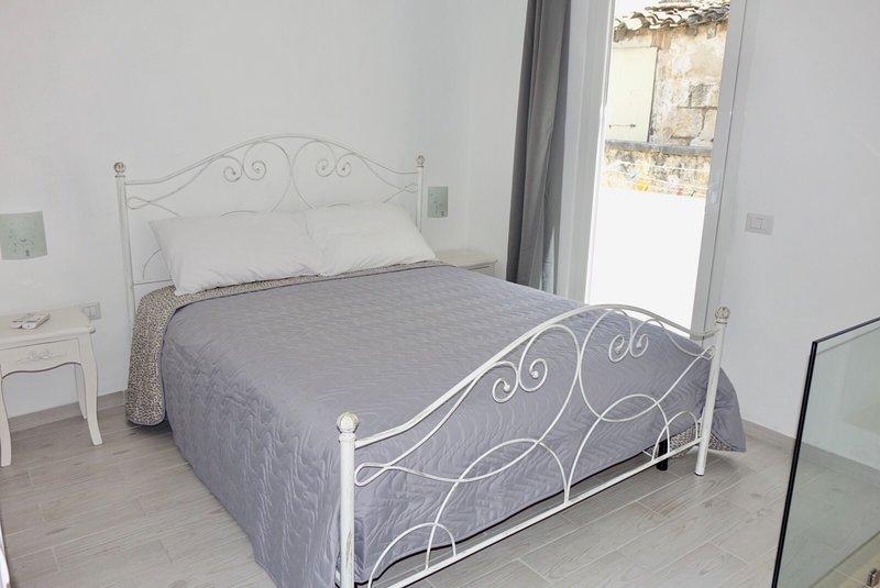 Camera da letto matrimoniale posta al primo piano