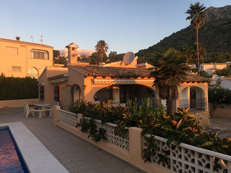 Dream in the sun of Spain