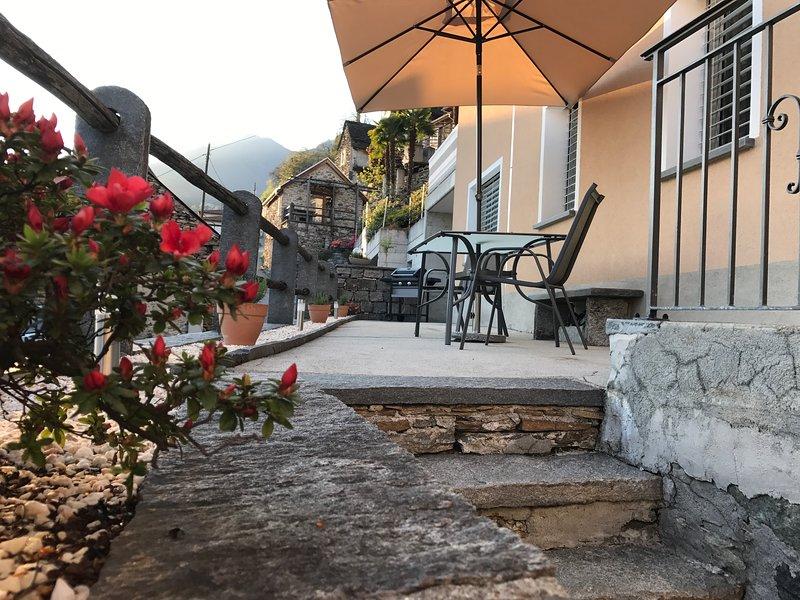 Appartamento Ai Ronchi, holiday rental in Cugnasco