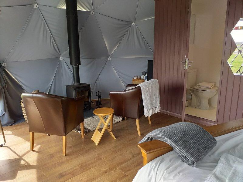 Gayton Farm Glamping Dome, Ferienwohnung in Upware