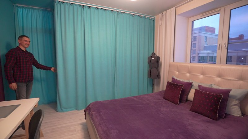Cozy and modern apartment, location de vacances à Krasnogvardeysky District