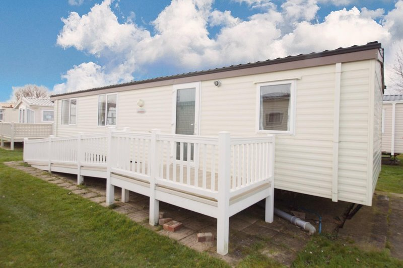 Wheelchair friendly accommodation at California Cliffs Holiday Park