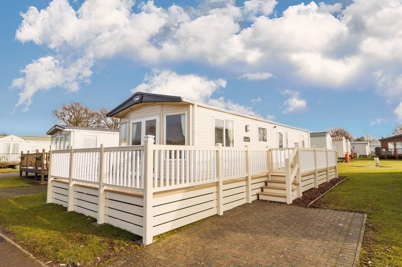6 berth accommodation at Carlton Meres Holiday Park