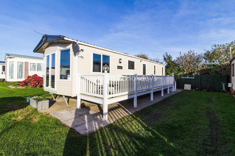 8 berth accommodation with decking