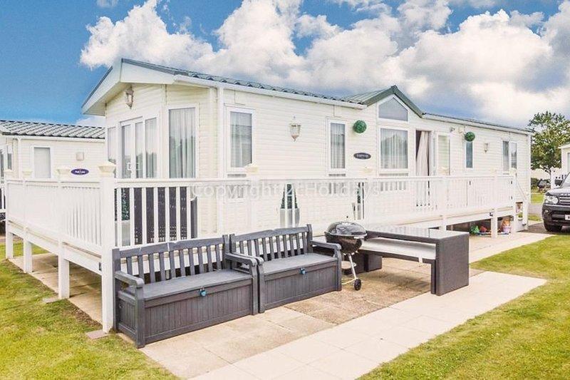 8 berth accommodation at Hopton Holiday Village, Norfolk