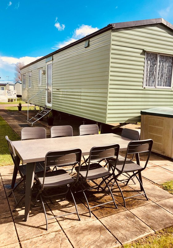 Outdoor furniture available to use at this accommodation