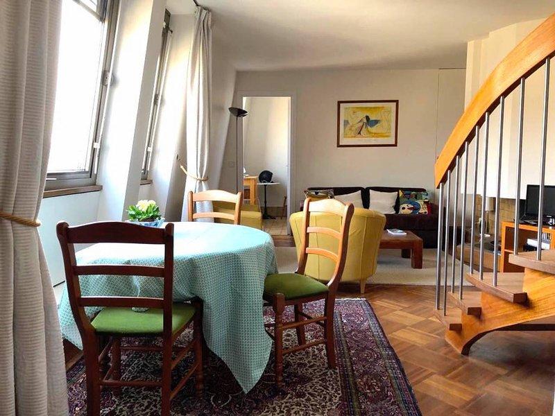 Thorigny - living-room