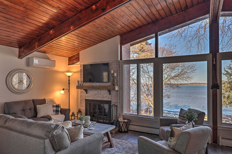 Renovated Cottage on Cayuga Lake Wine Trail, holiday rental in Aurora