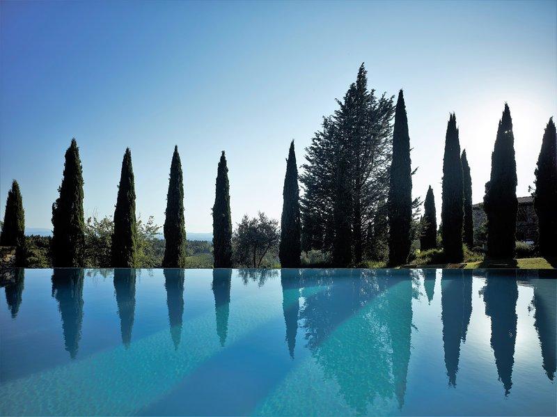 Casale Marciano, vakantiewoning in Barberino Val d'Elsa