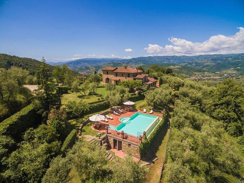 Villa Roncovisi A, aluguéis de temporada em Monsummano Terme
