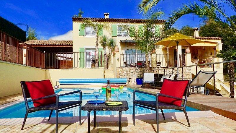 Villa Soled, Ferienwohnung in Vence