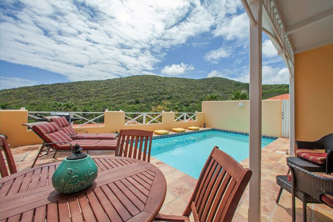Hidden Haven Private Pool Villa at Villa Madeleine, vacation rental in Teague Bay