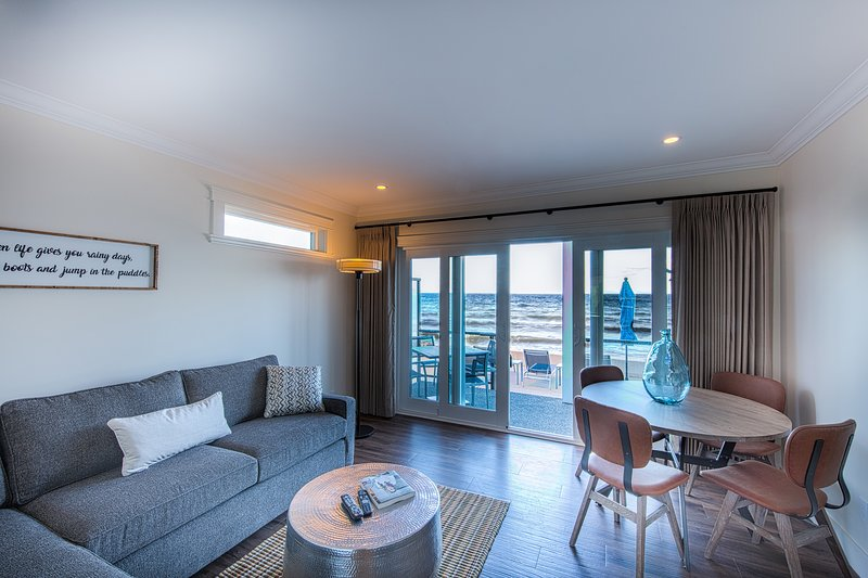 Everything you need for a comfortable stay in your own self-contained suite.