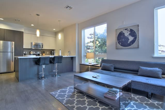 Contemporary Furnished Space Carefully Designed for the Modern Business Traveler