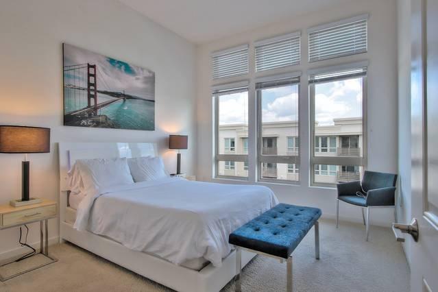 Master Bedroom with Queen Bed + Queen Air-Mattress (Sleeps 2)