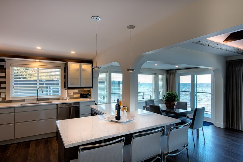 Don't miss any of the views while you're cooking in your gourmet kitchen