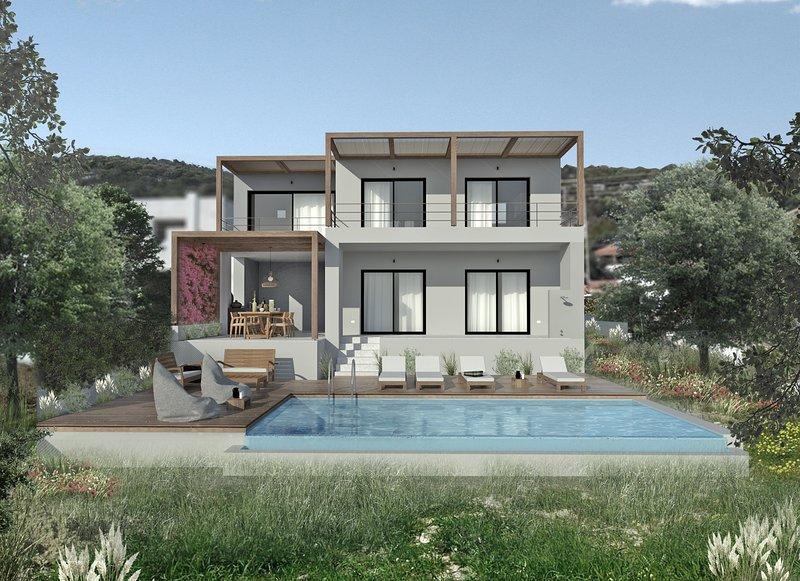 Impresionante villa de nueva construcción de 3 dormitorios con piscina