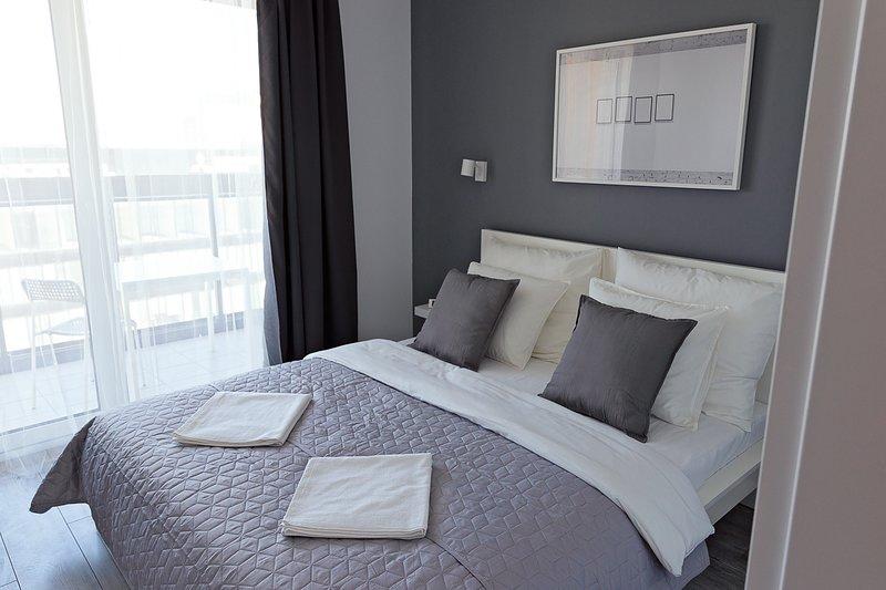 1 bed. apartment - CYBERNETYKI 8, casa vacanza a Piastow
